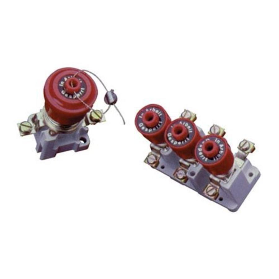 Set Sperrkappen für Sicherungselemente UIO1021041
