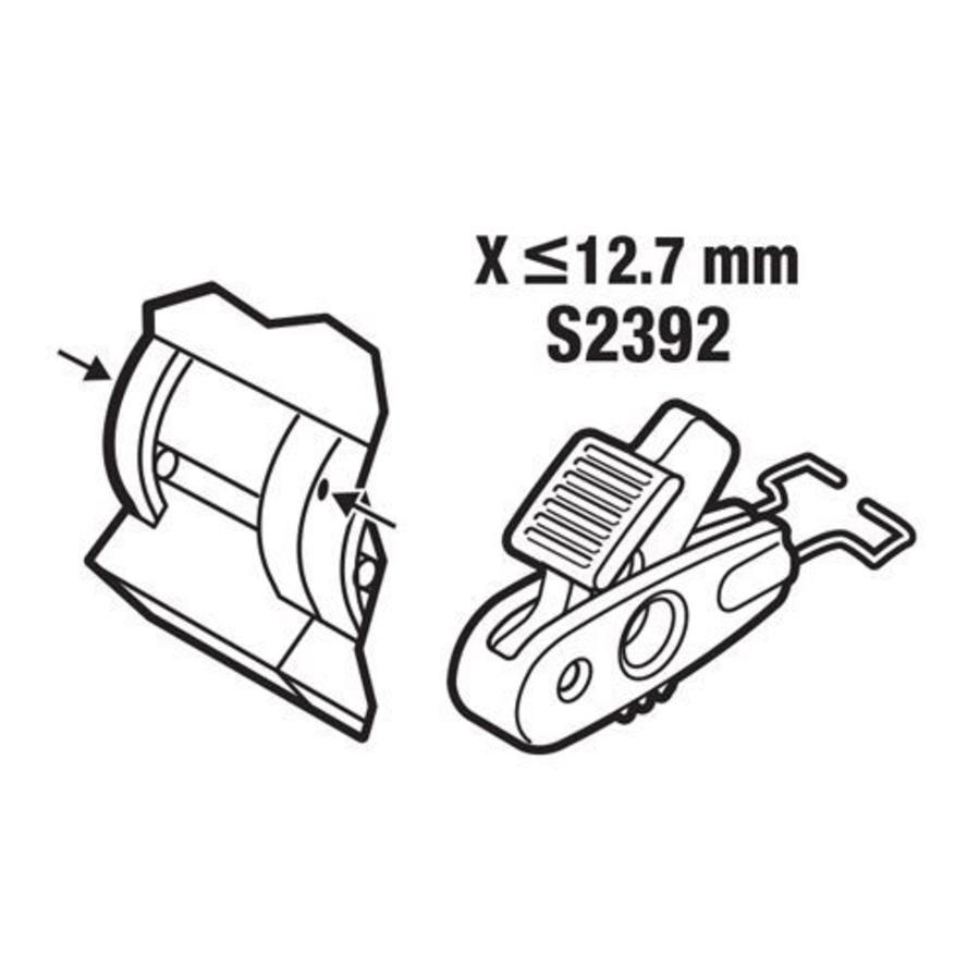 Leitungsschutzschalter-Verriegelung < 12,7mm S2392