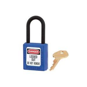Master Lock Zenex Sicherheits-vorhängeschloss blau 406BLU, 406KABLU