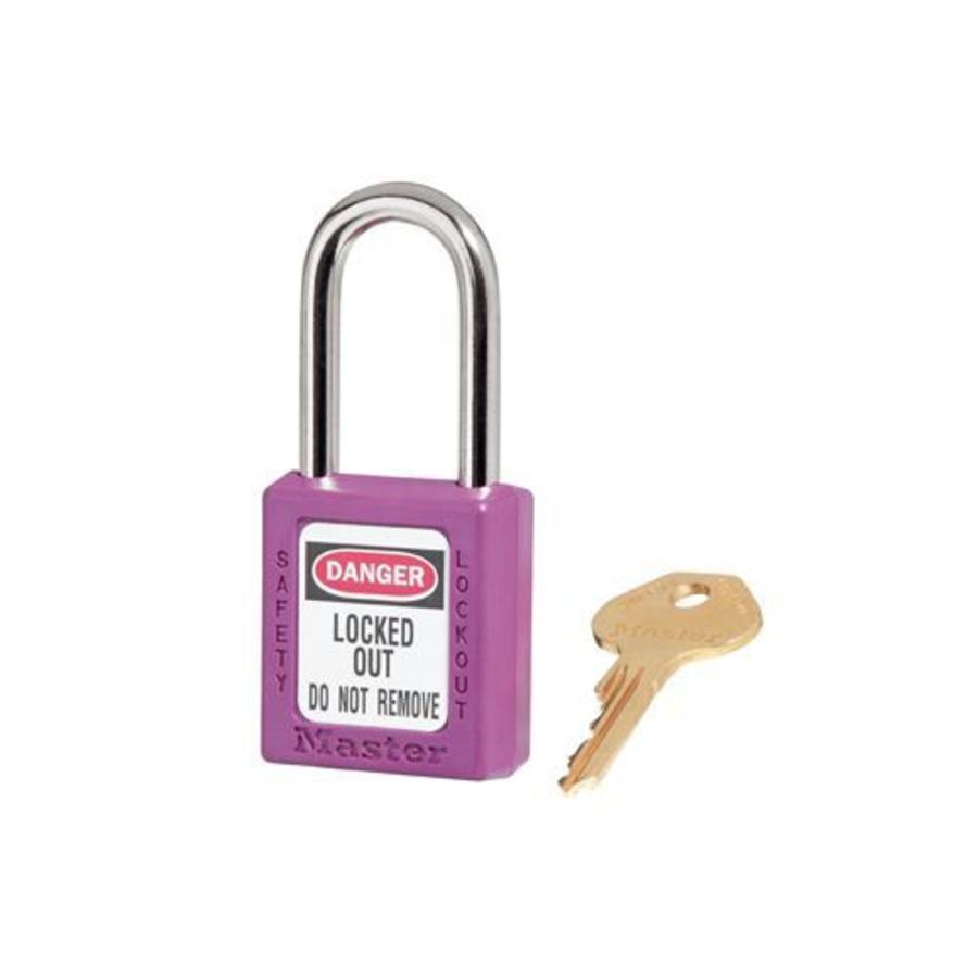 Zenex Sicherheits-vorhängeschloss lila 410PRP, 410KAPRP