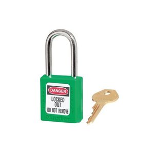 Master Lock Zenex Sicherheits-vorhängeschloss grün 410GRN, 410KAGRN