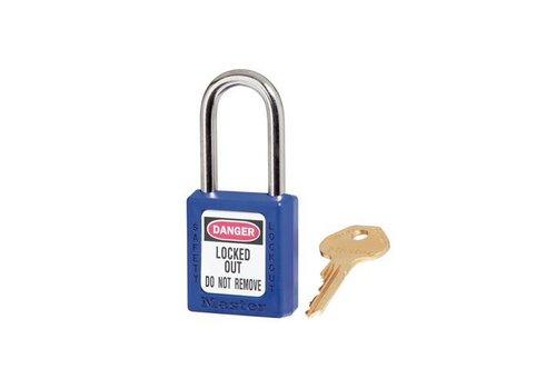 Zenex Sicherheits-vorhängeschloss blau 410BLU