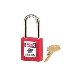 Master Lock Zenex Sicherheits-vorhängeschloss rot 410RED - 410KARED