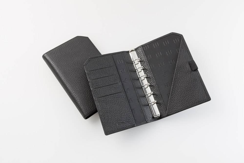 "Lederringbuch ""Classic"", 13-mm-Ringmechanik - schwarz"