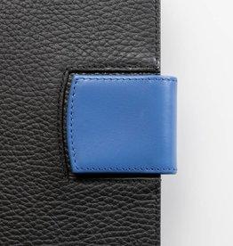 Lederlasche einzeln - blau