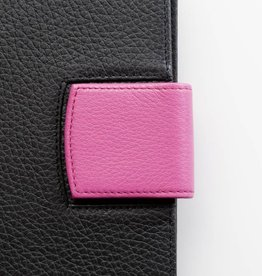 Lederlasche einzeln - pink