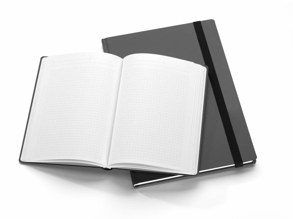"Notizbuch ""Recherchen ▪ Notizen ▪ Ziele"" DIN A4"