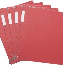 HelfRecht-SystemHefter - Rot -5er-Pack
