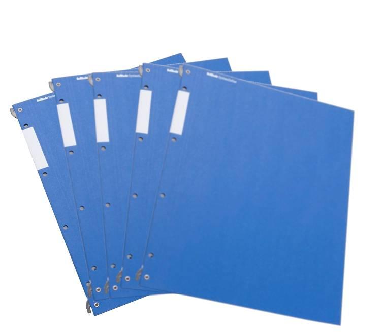 HelfRecht-SystemHefter - Blau - 5er-Pack