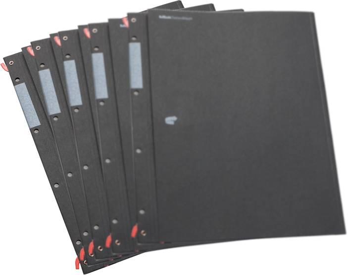 HelfRecht-SystemMappe - Schwarz - 5er Pack