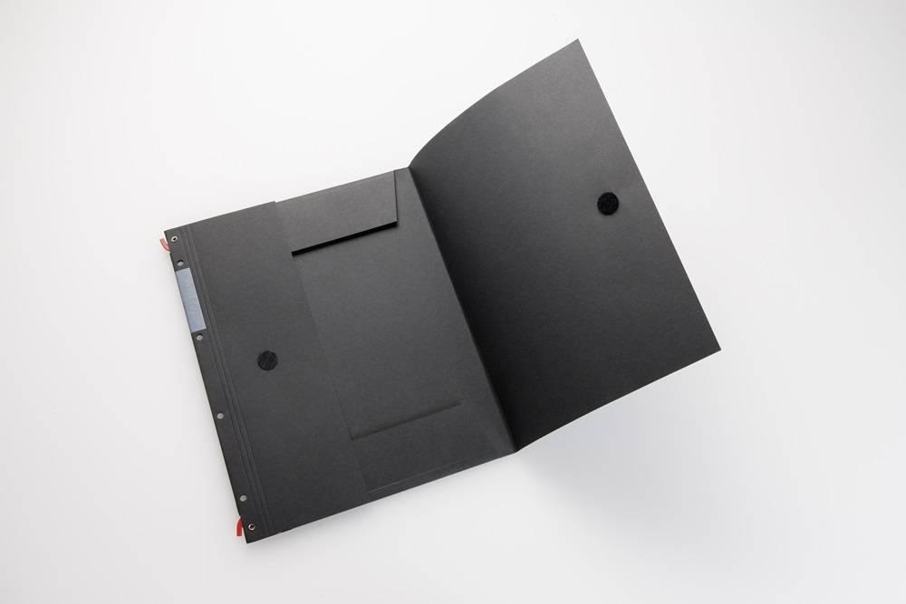 HelfRecht-SystemMappe - Rot - 5er Pack