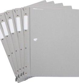 HelfRecht-SystemMappe - Grau - 5er Pack