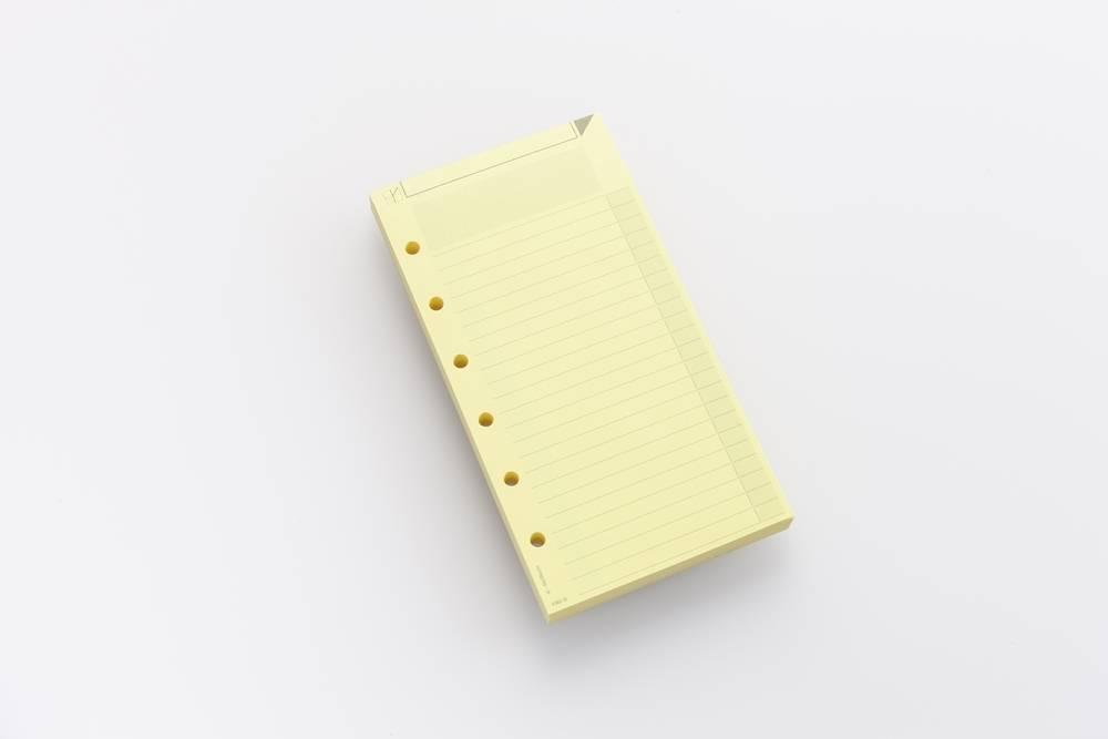 Notizzettel AM2 farbig - Gelb