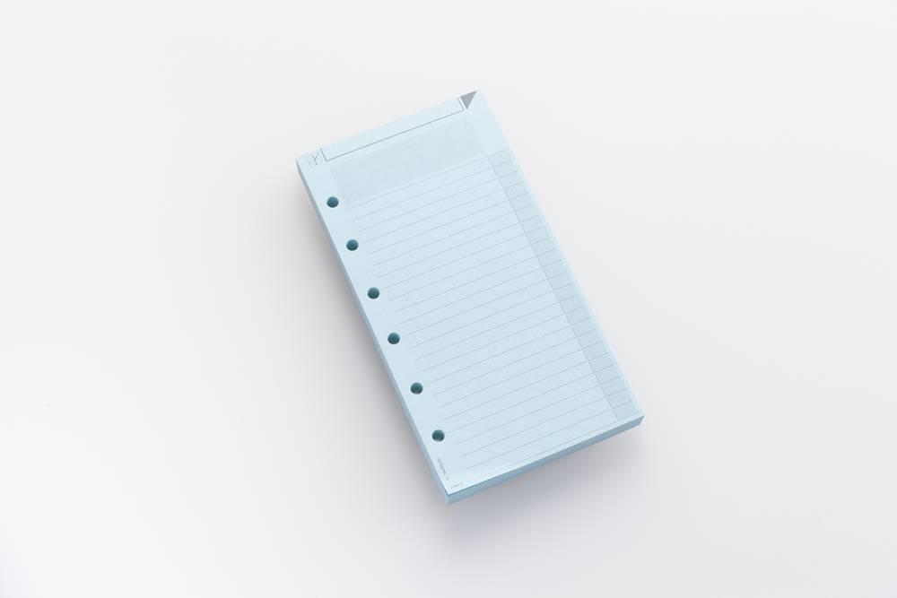 Notizzettel AM2 farbig -Blau