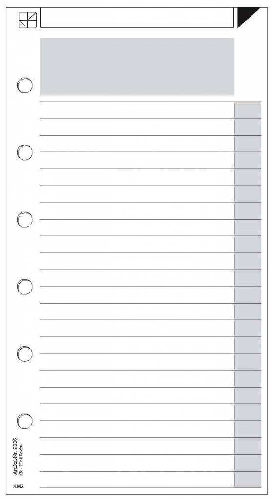 Notizzettel AM2 - DIN A5