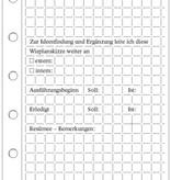 Wieplanskizzen - DIN A4