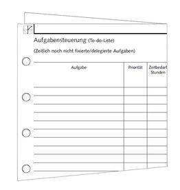 Aufgabensteuerung - DIN A5