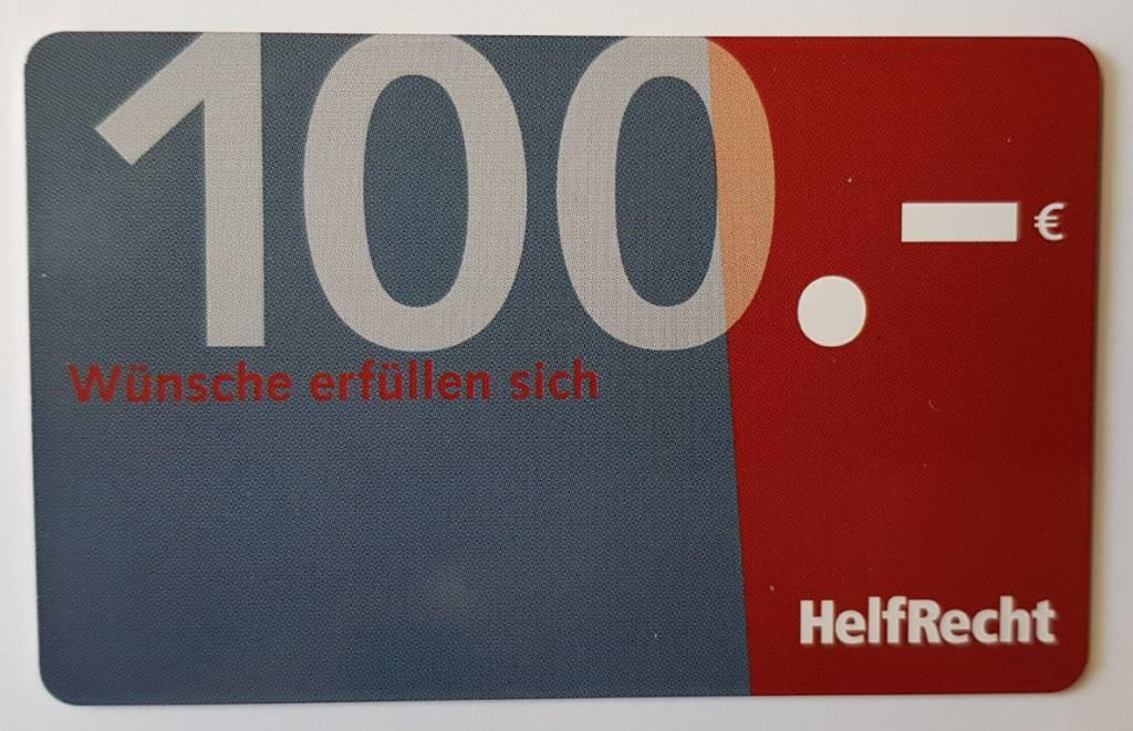 Gutscheinkarte.Gutscheinkarte Von Helfrecht 100 Euro