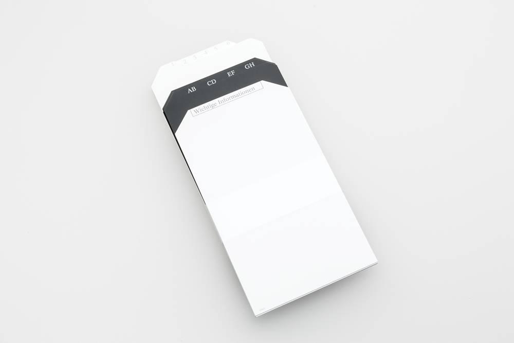 Register-Set für PlanBox
