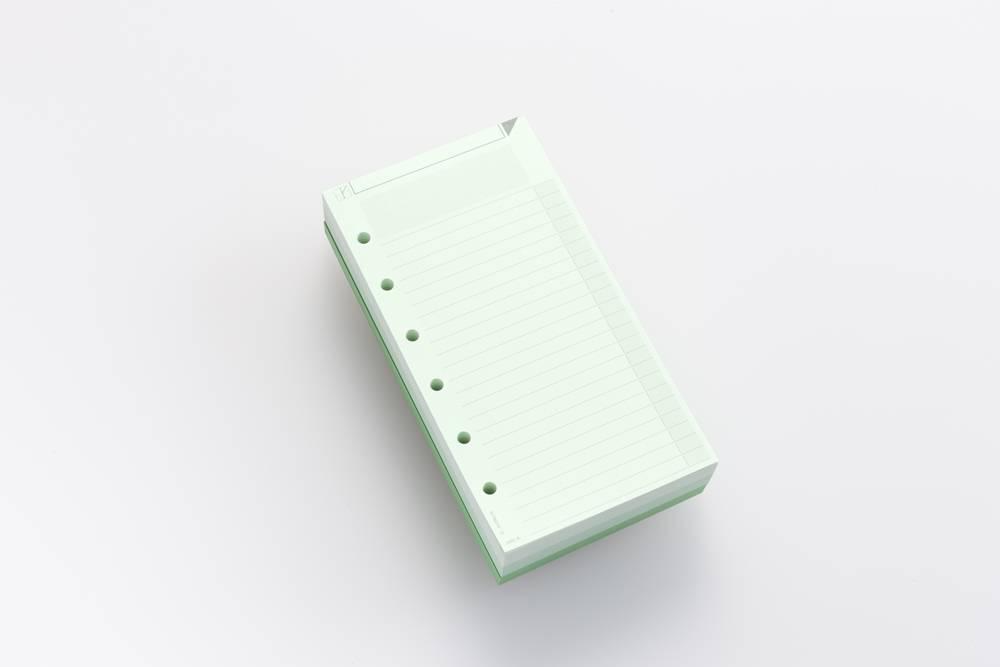 Zettelblock AM2 - Grün
