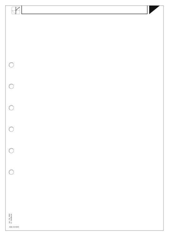 EDV-Vordruck blanko