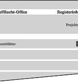 Registerinhalt DIN A4