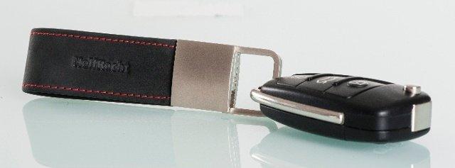 Exklusiver Leder-Schlüsselanhänger