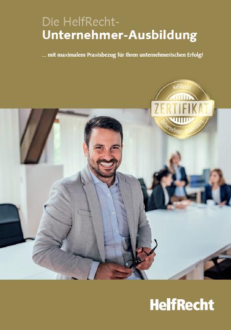 Infos: Unternehmer-Ausbildung