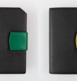 Führungskräfteplaner mit integrierter Smartphonetasche im A6-Format
