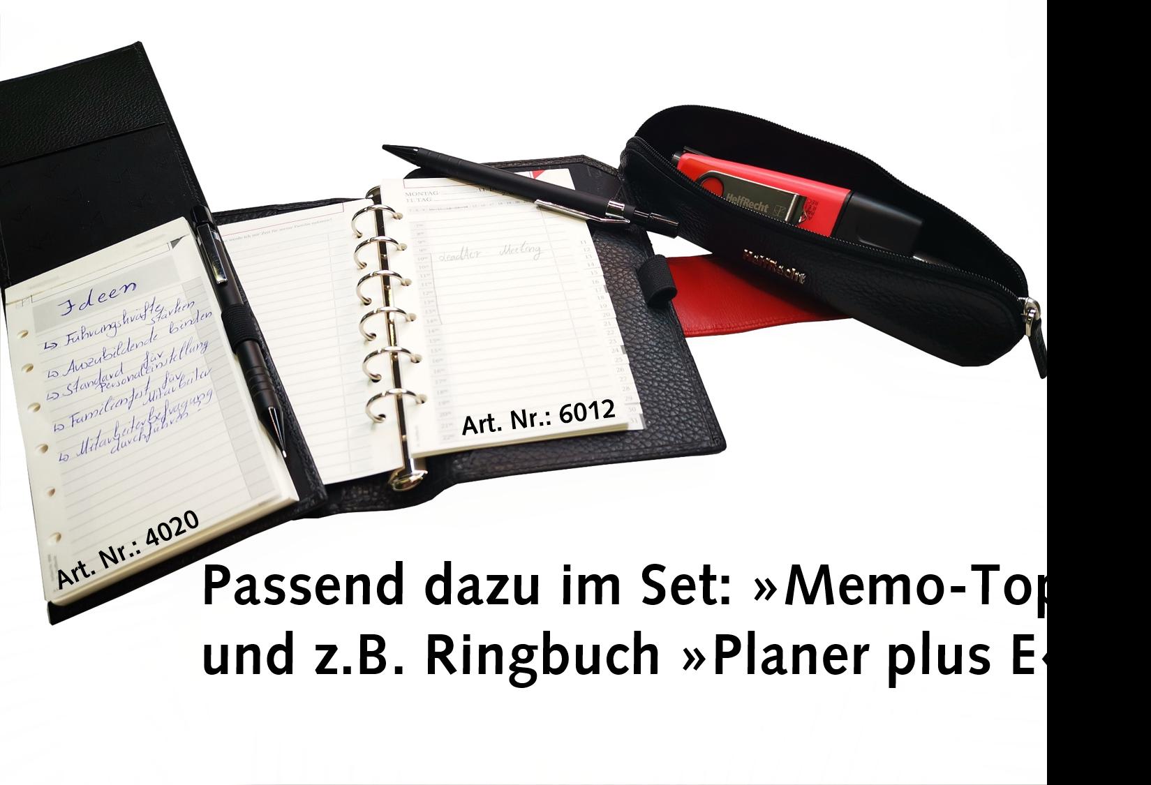 Stiftetui für Büro und unterwegs - Schwarz