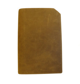 "Lederringbuch ""Classic"" toffee"