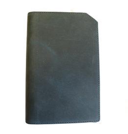 "Lederringbuch ""Classic"" dark blue"