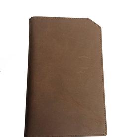 "Lederringbuch ""Classic"" chocolate"