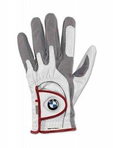 BMW BMW GOLFSPORT LADIES GLOVE,  White / Grey