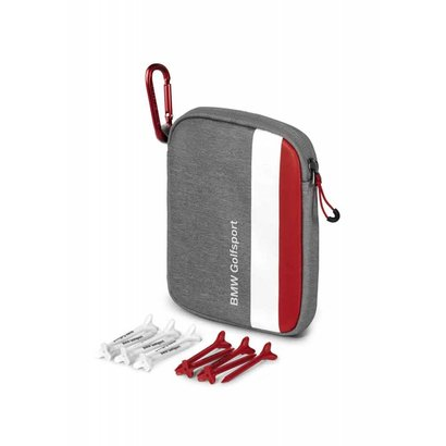 BMW BMW GOLFSPORT TEE BAG - Grey / White / Red