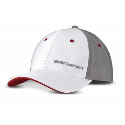 BMW BMW GOLFSPORT CAP - White / Grey / Red