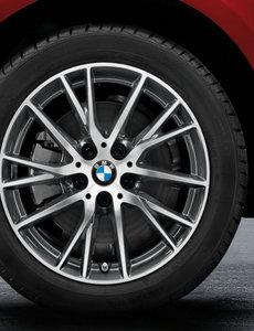 """BMW BMW Winterwielset 1 Serie F40/F44 Orbitgrey 489 17"""""""