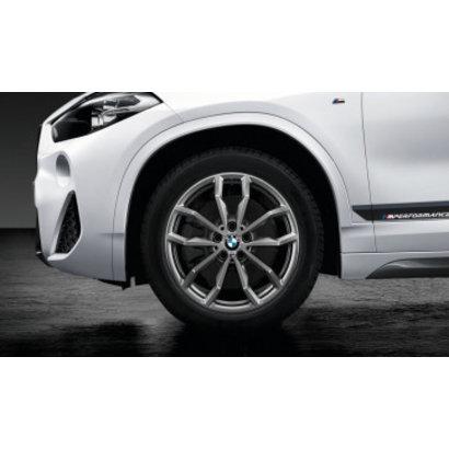 """BMW BMW Winterwielset 1 Serie F40/F44 Ferricgrey 711M 18"""""""