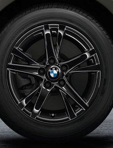"""BMW BMW Winterwielset 1 Serie F40/F44 Jet Black Uni 473 16"""""""
