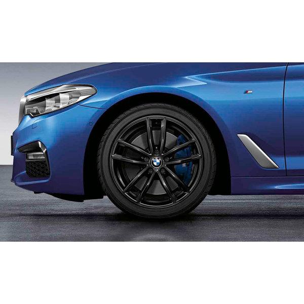 BMW BMW Winterwielset 5 Serie G30/G31 M Double Spoke 662M Zwart