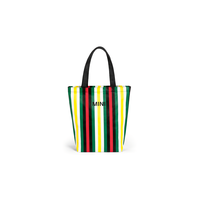 MINI MINI STRIPED SHOPPER