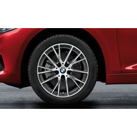 "BMW DEMO Winterwielset 17"" Styling 489 BMW 2 Serie Tourer  (F45 F46)"