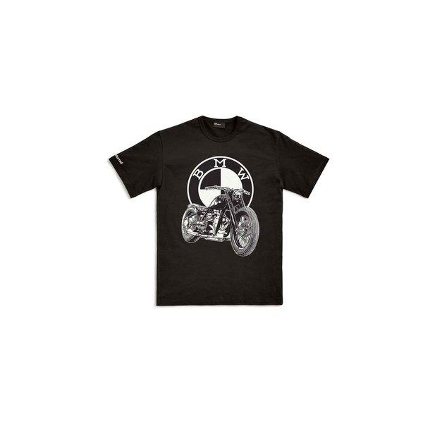 BMW Motorrad BMW Dealer T-shirt Zwart Heren