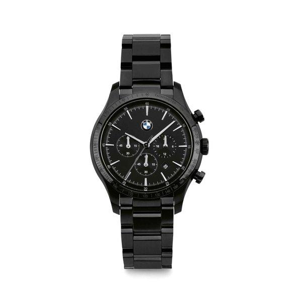 BMW BMW M Horloge Chrono Metal Black