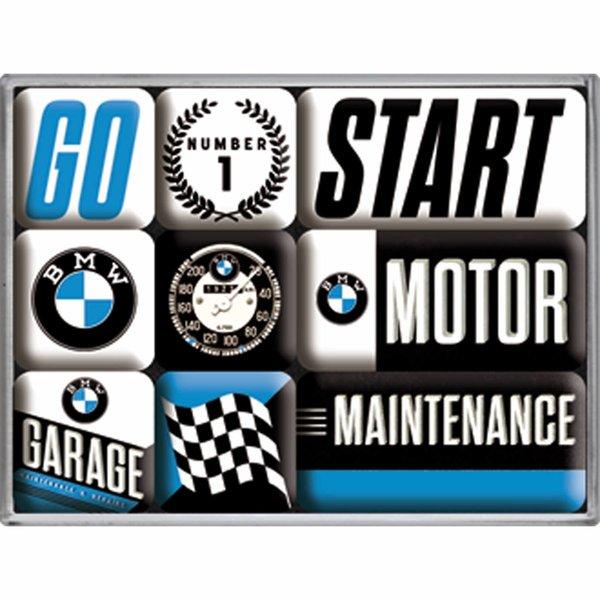 BMW Magnet Set BMW Motor