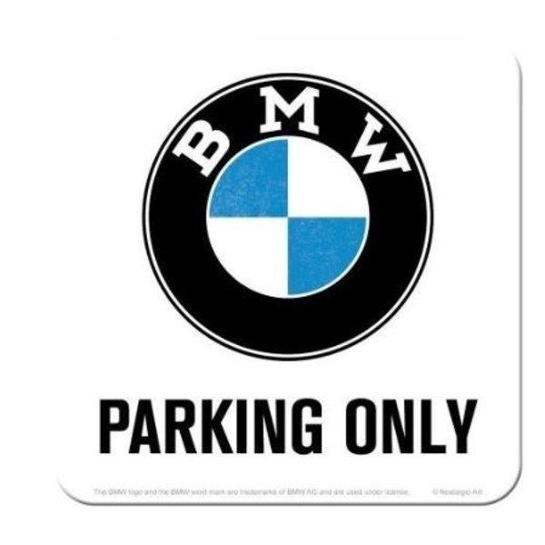 BMW BMW Parking Only White Onderzetter