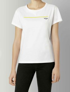MINI Mini Wing logo T-Shirt Dames wit