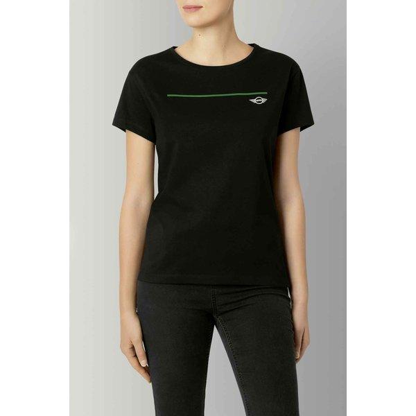 MINI Mini Wing logo T-Shirt Dames Zwart
