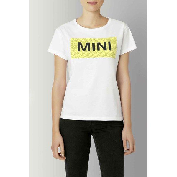 MINI Mini Wordmark T-Shirt Dames wit