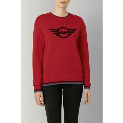 MINI Mini Loop Wing Logo Sweatshirt Dames Chili Red